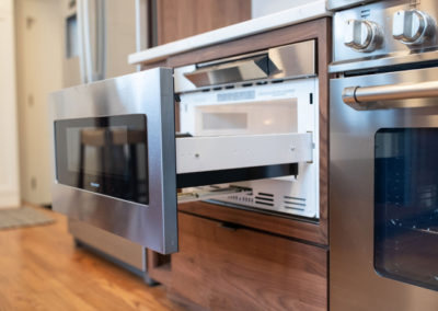A detailed look at the microwave drawer